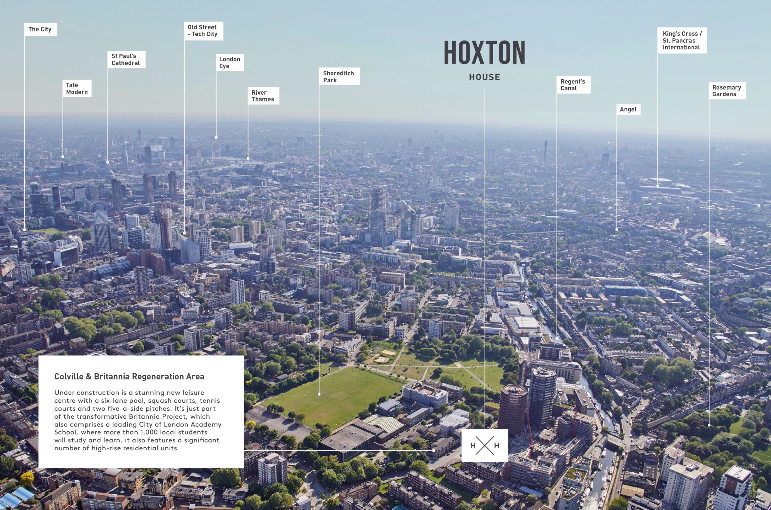 Aerial View London